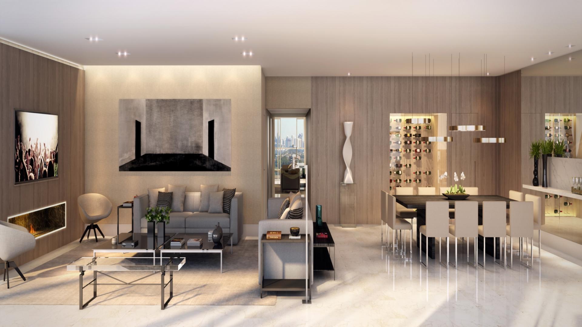 Apartamentos de 4 dormitórios em Batel, Curitiba - PR