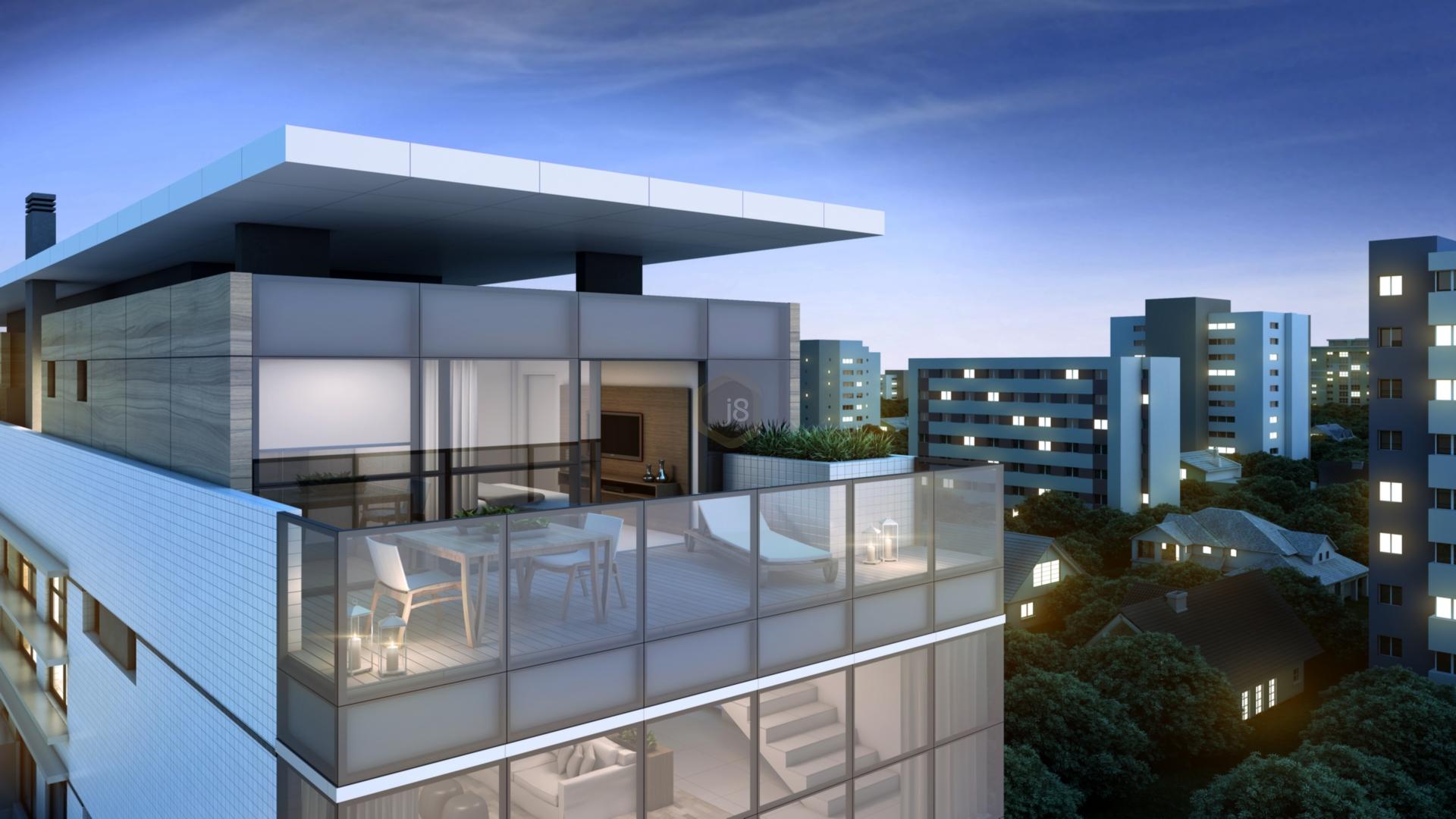 Apartamentos de 1 dormitório em Batel, Curitiba - PR