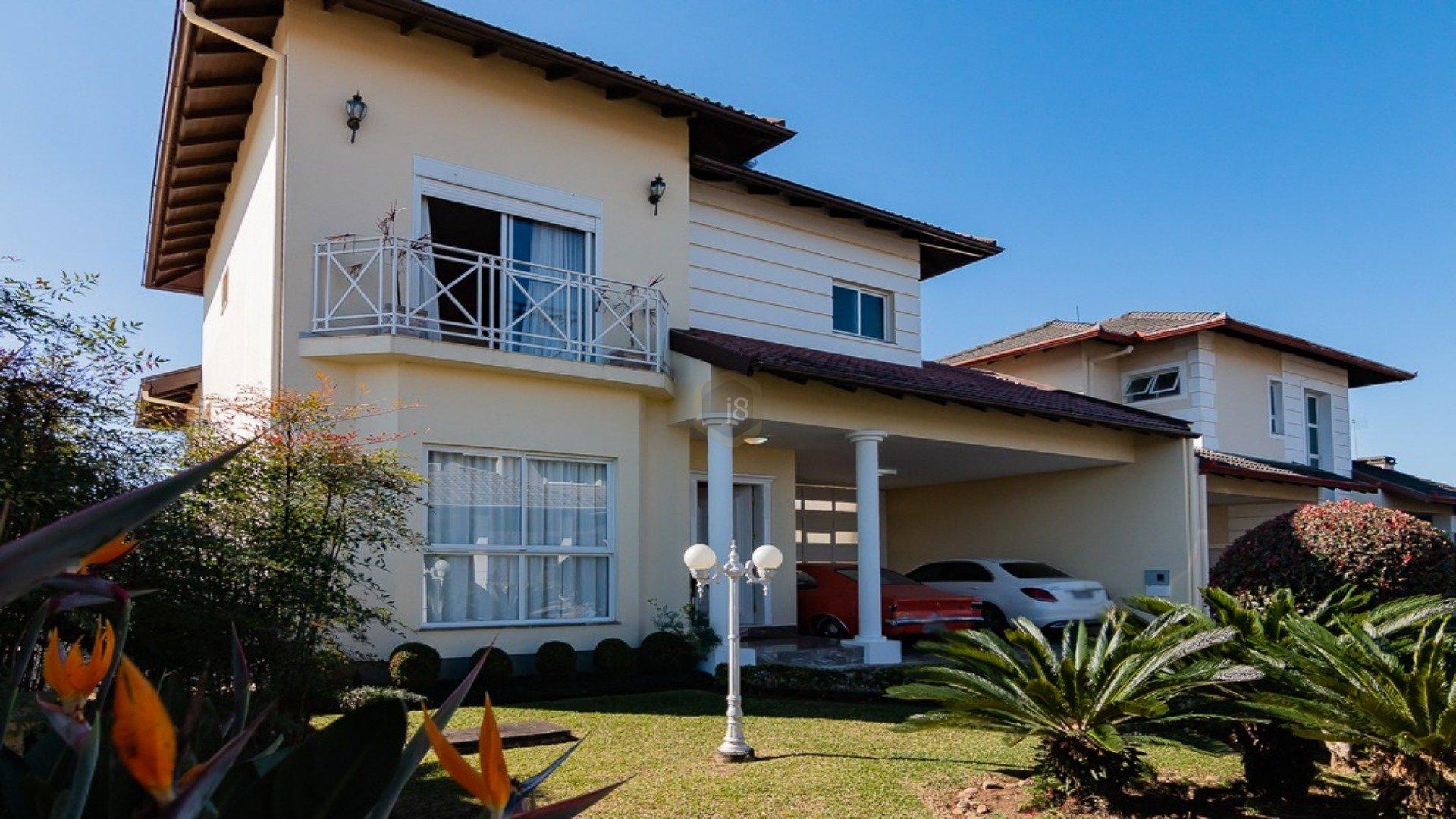 Foto de destaque Casa com 3 suítes em condomínio fechado em santa felicidade !