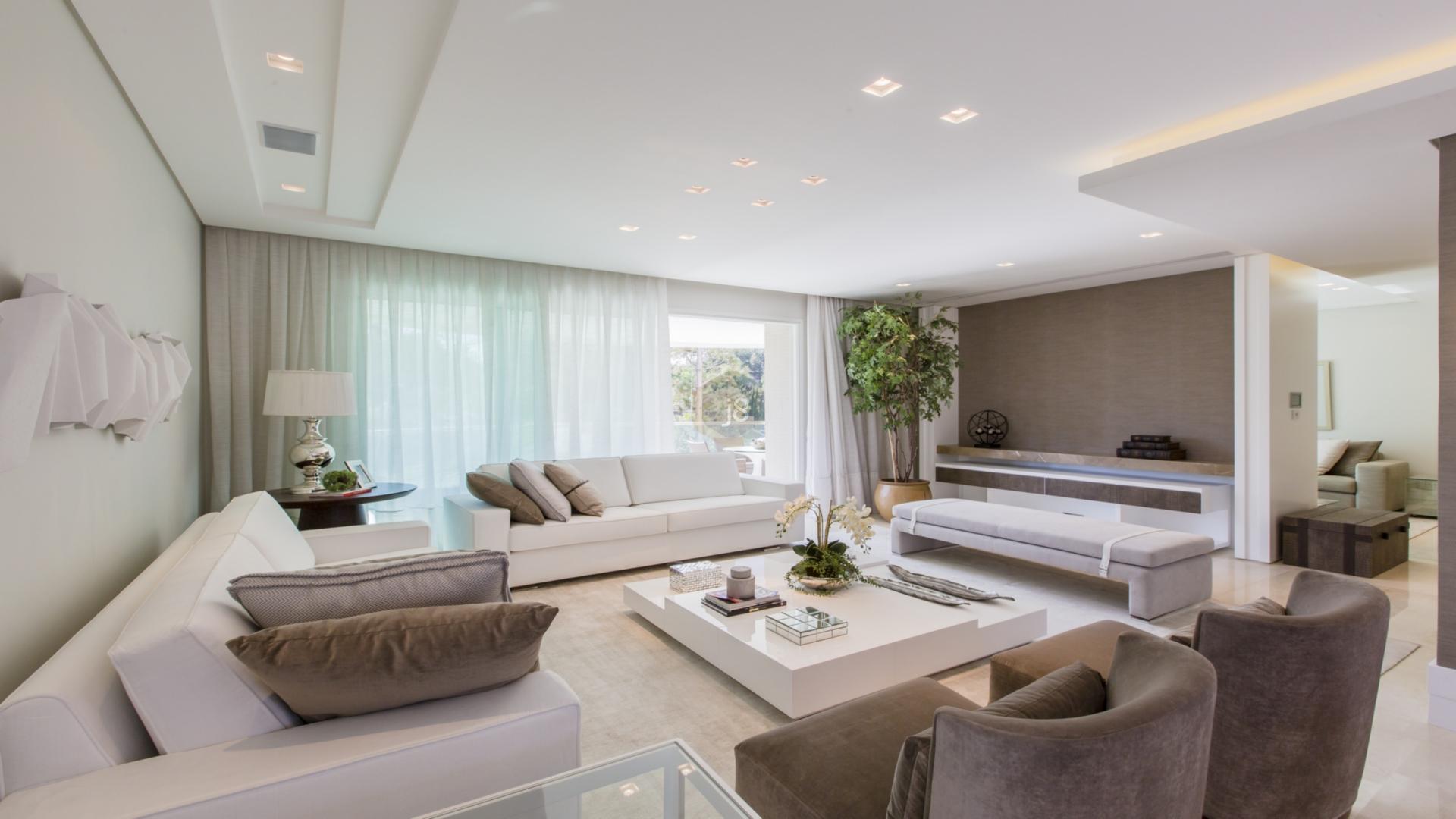 Foto de destaque Luxo e sofisticação com arquitetura contemporânea