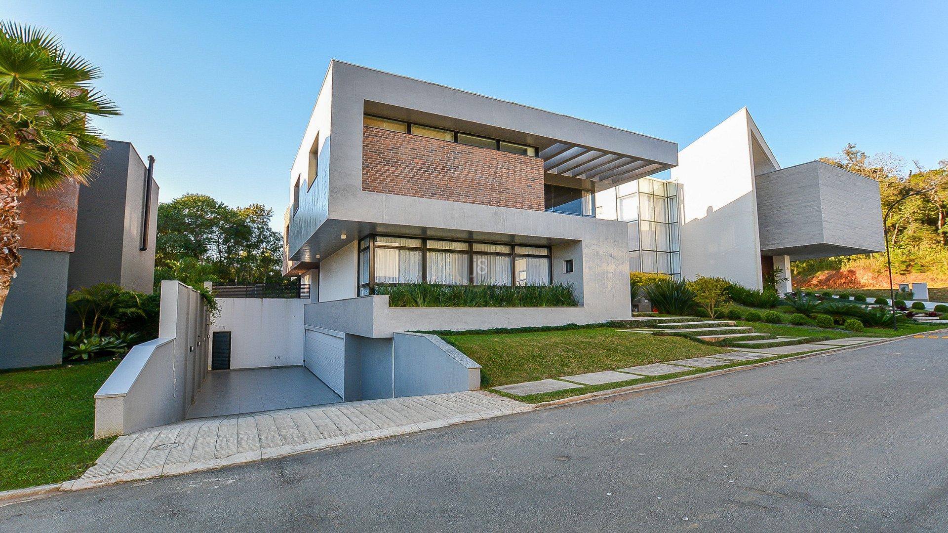 Foto de destaque Requinte e luxo, casa com 4 suítes em condomínio