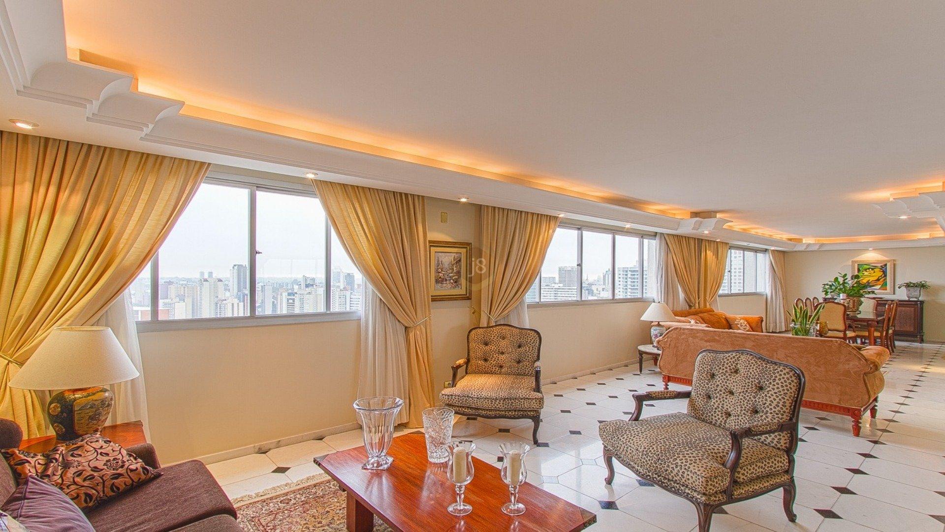 Foto de destaque Apartamento com a melhor vista do batel