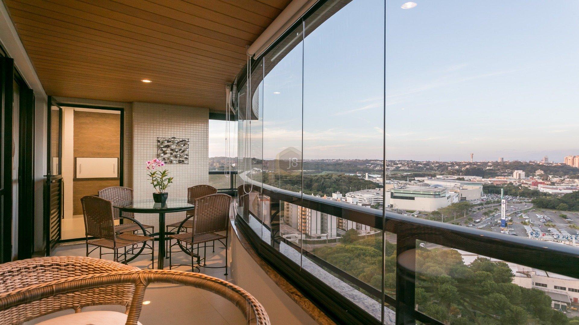 Foto de destaque Apartamento 3 suítes com  vista incrível no ecoville