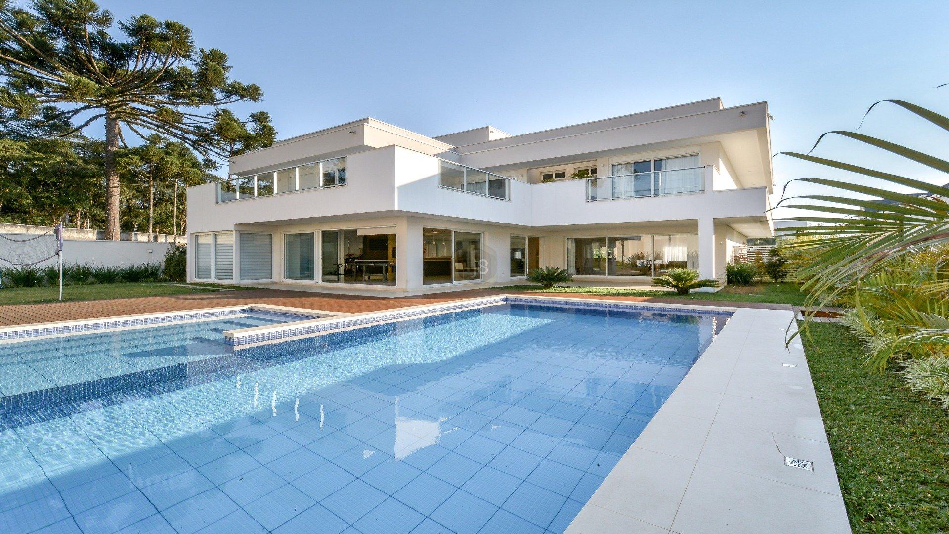 Foto de destaque Linda casa moderna 4 suites e piscina