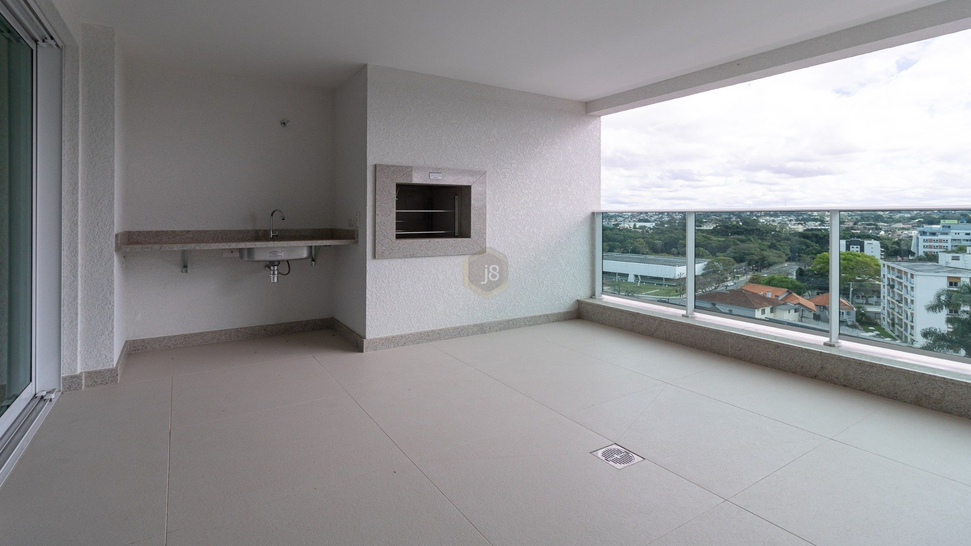 Foto de destaque Vista maravilhosa em um apartamento de altíssimo padrão