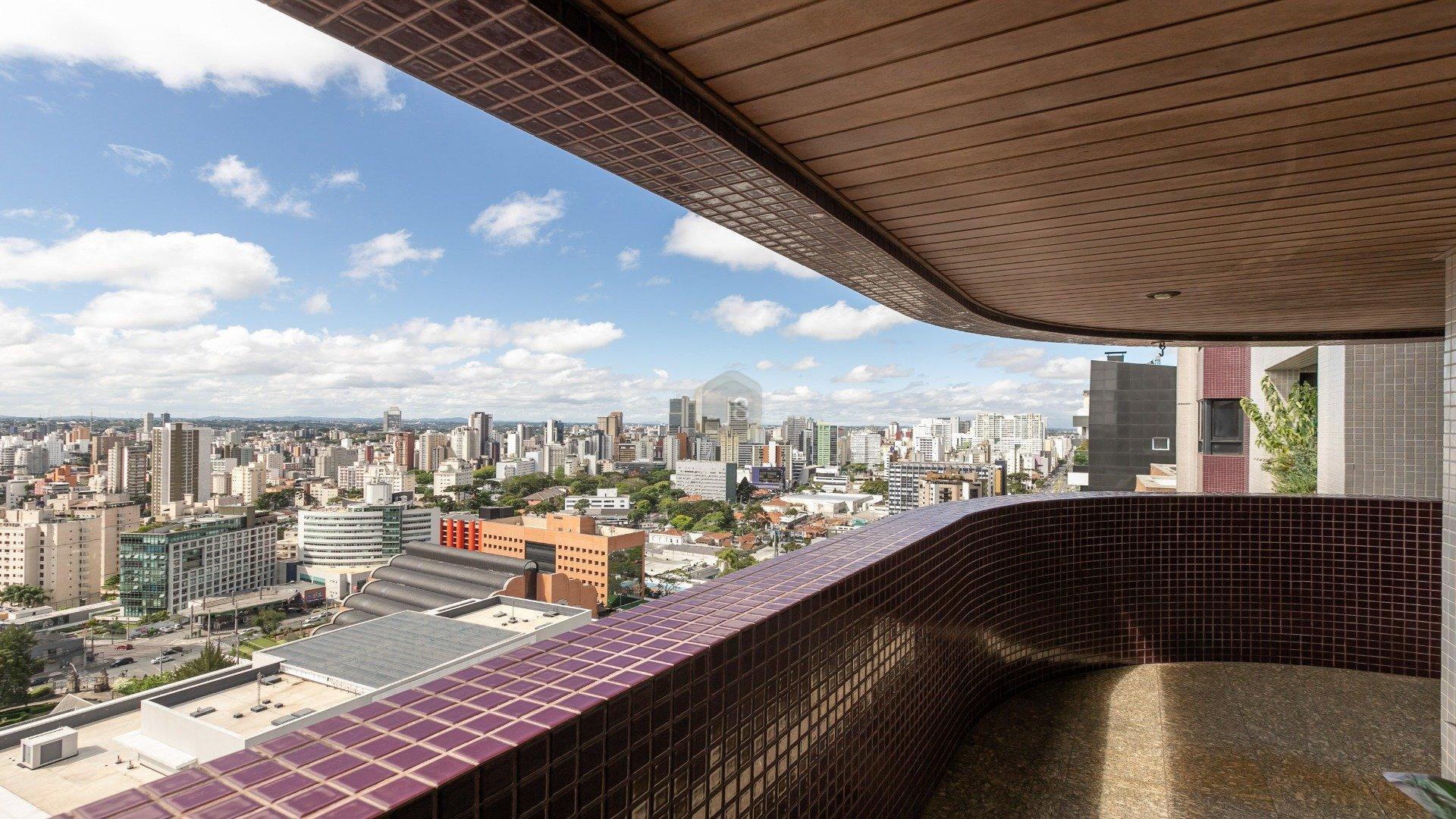 Foto de destaque Apartamento face norte e vista sensacional no batel