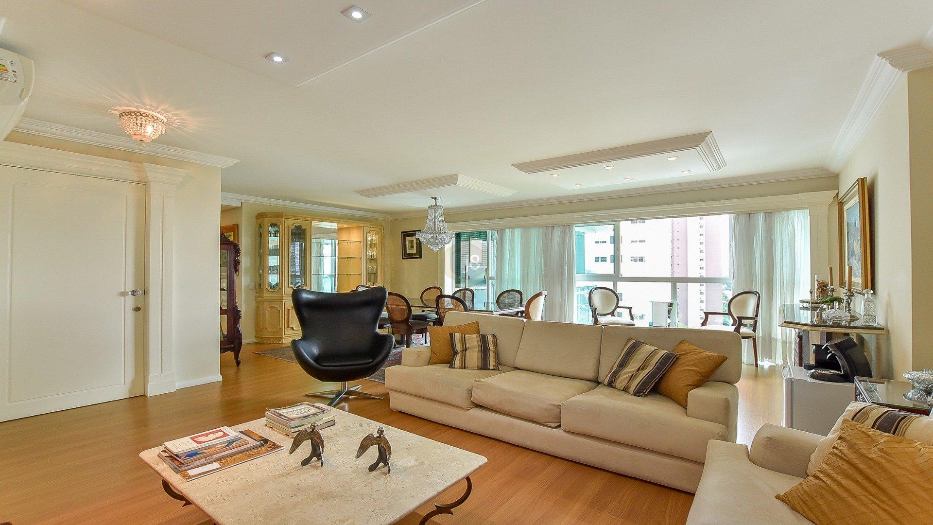 Foto de destaque Apartamento no ecoville com 4 quartos e churrasqueira