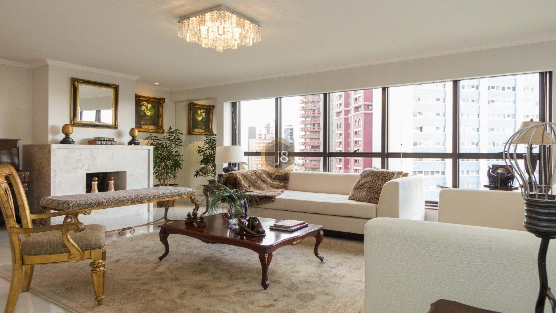 Foto de destaque Lindíssimo apartamento com 4 dormitórios e 3 vagas no batel