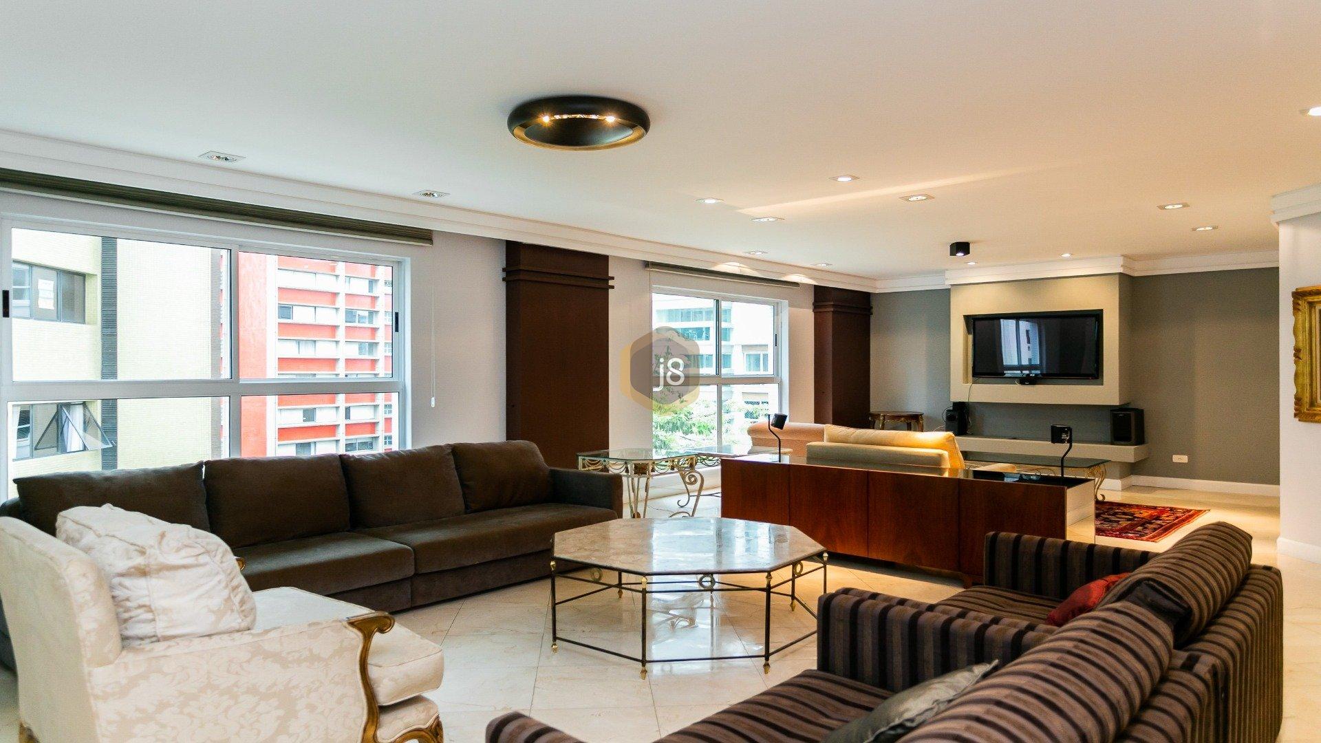 Foto de destaque Amplo e iluminado com 4 quartos no batel